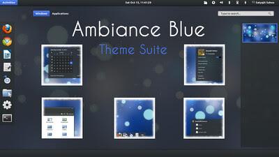 Ubuntu 11.10 oneiric themes