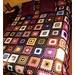 colcha granny squares
