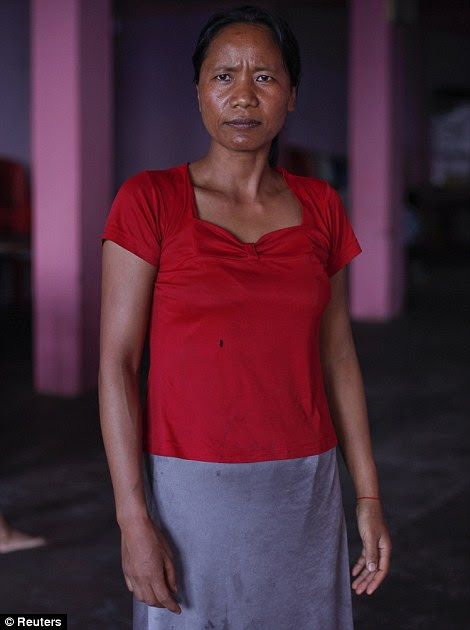 Chuani, 40 anos, esposa de Ziona