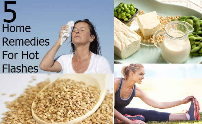 5 Home Remedies For Hot Flashes - Natural Treatments ...
