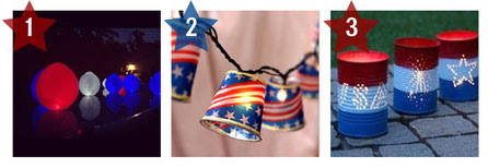 July 4th Decorations Patriotic Container Gardens Easy Crafts For