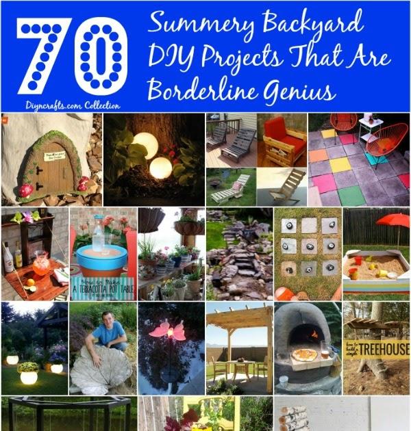 Summery Backyard DIY Projects That Are Borderline Genius