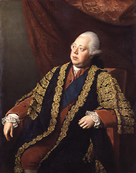 Nathaniel Dance: Frederick North, second earl of Guildford [Lord North] (1732-1792), prime minister of the Great Britain, 1770-82