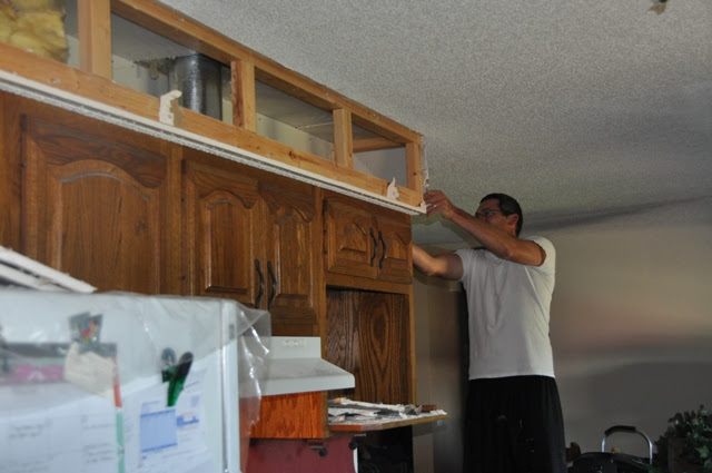 What To Do With Soffit Kitchen Cabinets Home & Furniture
