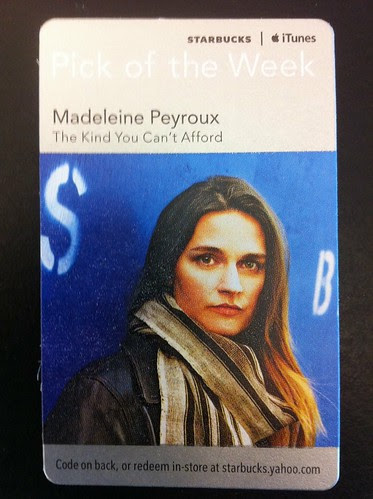 Starbucks iTunes Pick of the Week - Madeleine Peyroux - The Kind You Can't Afford