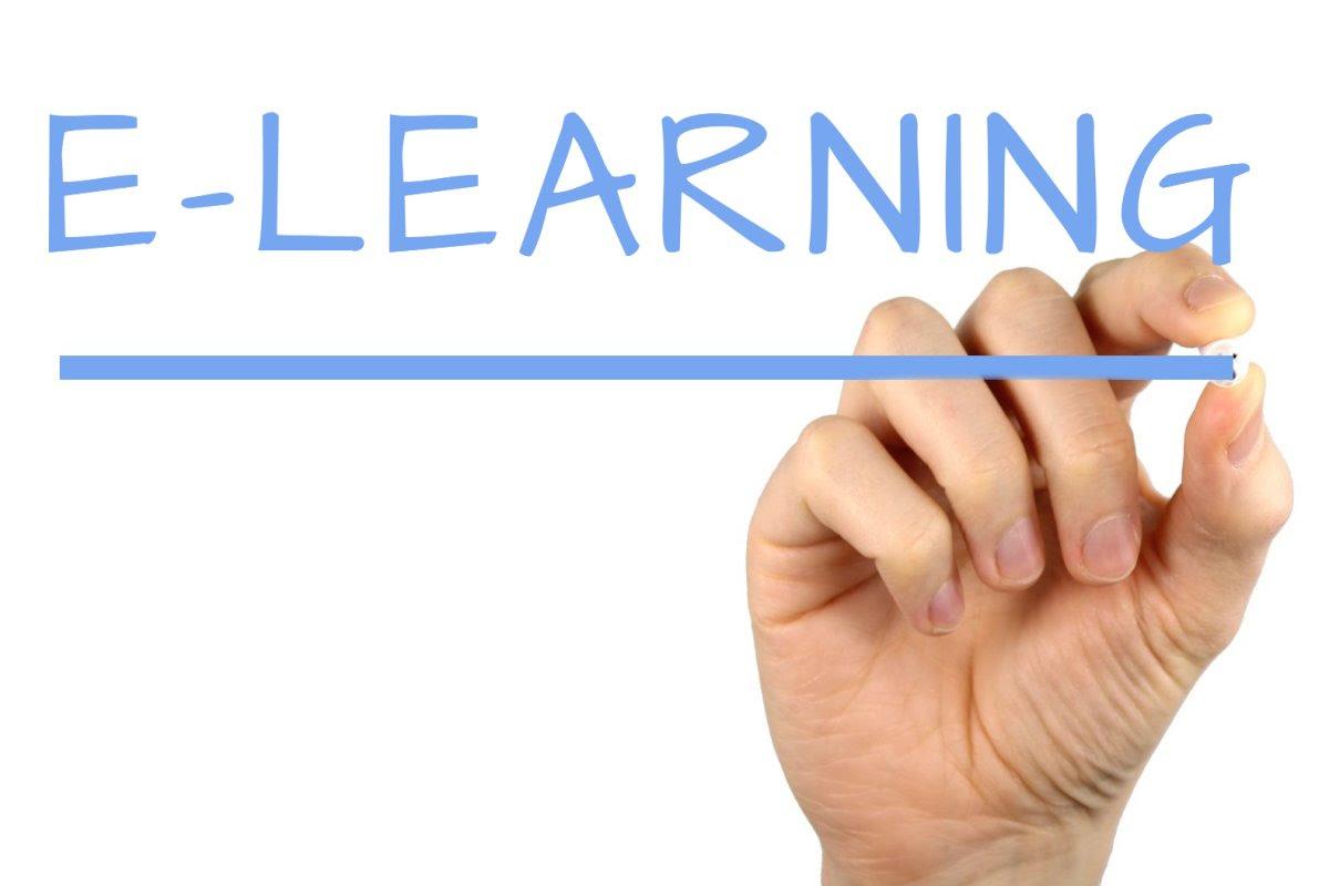 E-learning - Handwriting image