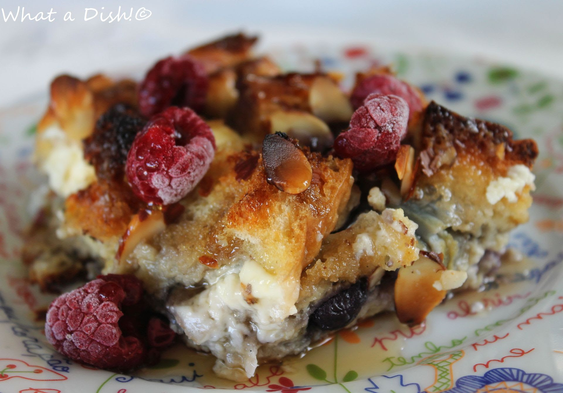 Almond-Blueberry French Toast Bake