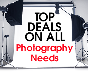 Top Deals on all Photography Needs