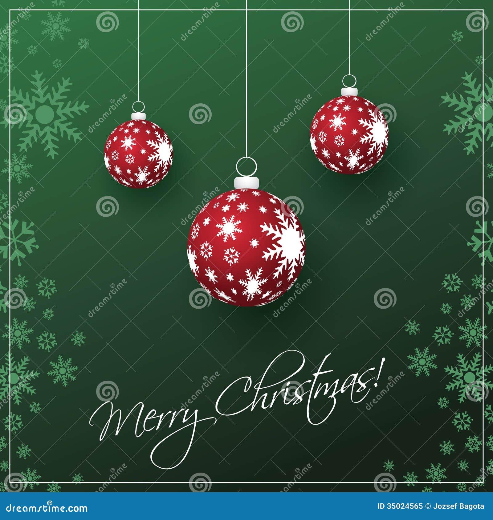 Christmas Card Background Royalty Free Stock Photo - Image: 35024565