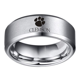 Clemson Tigers NCAA Football Team Tungsten Carbide Wedding