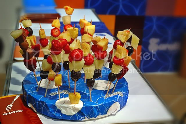 Chocolate Trade Show in Barcelona: A Fruit Treat [enlarge]
