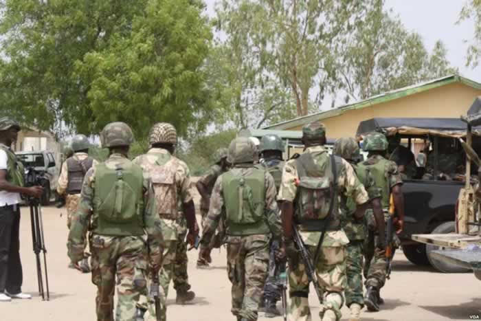 Image result for Herdsmen killings: Army launches 44-day operation in Benue, Taraba  Published February 7, 2018 Share  Tweet   Share  Pin it  +1 Olaleye Aluko, Abuja  The Nigerian Army said on Wednesday that it will begin Exercise Ayem Akpatuma covering Benue, Taraba, Kogi, Nasarawa, Kaduna and Niger states in order to tackle the cases of kidnappings, herdsmen/farmers' clashes among others.  The Chief of Training and Operations, Maj Gen David Ahmadu, who announced this in Abuja on behalf of the Chief of Army Staff, Lt Gen Tukur Buratai, said the exercise would run from February 15 to March 31, 2018.   READ ALSO: Buhari reinstates NHIS boss under probe for alleged N919m fraud  According to the army, Exercise Ayem Akpatuma, which is said to be the Tiv language for Cat race, will involve raids, cordon and search operations, road blocks, show of force and checkpoints.