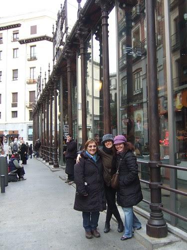 En el Mercado de San Miguel. Madrid 2011