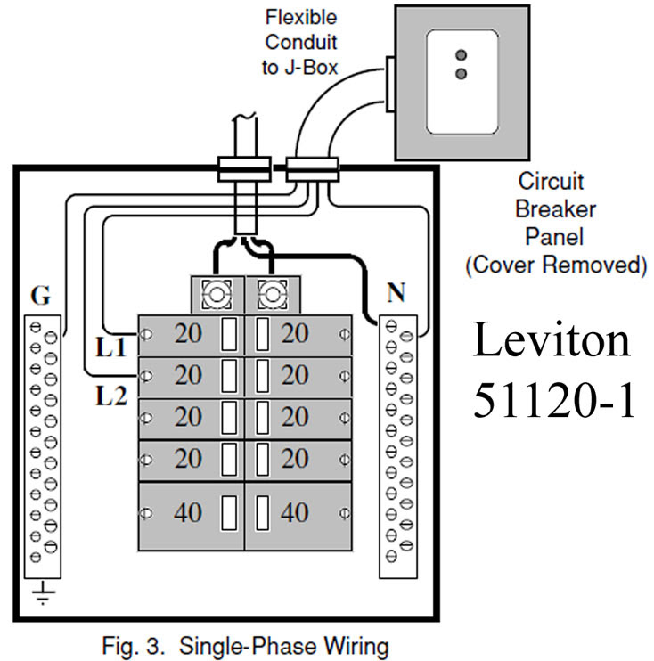 A Single Phase 240 Volt Breaker Wiring Diagram - Wiring ...