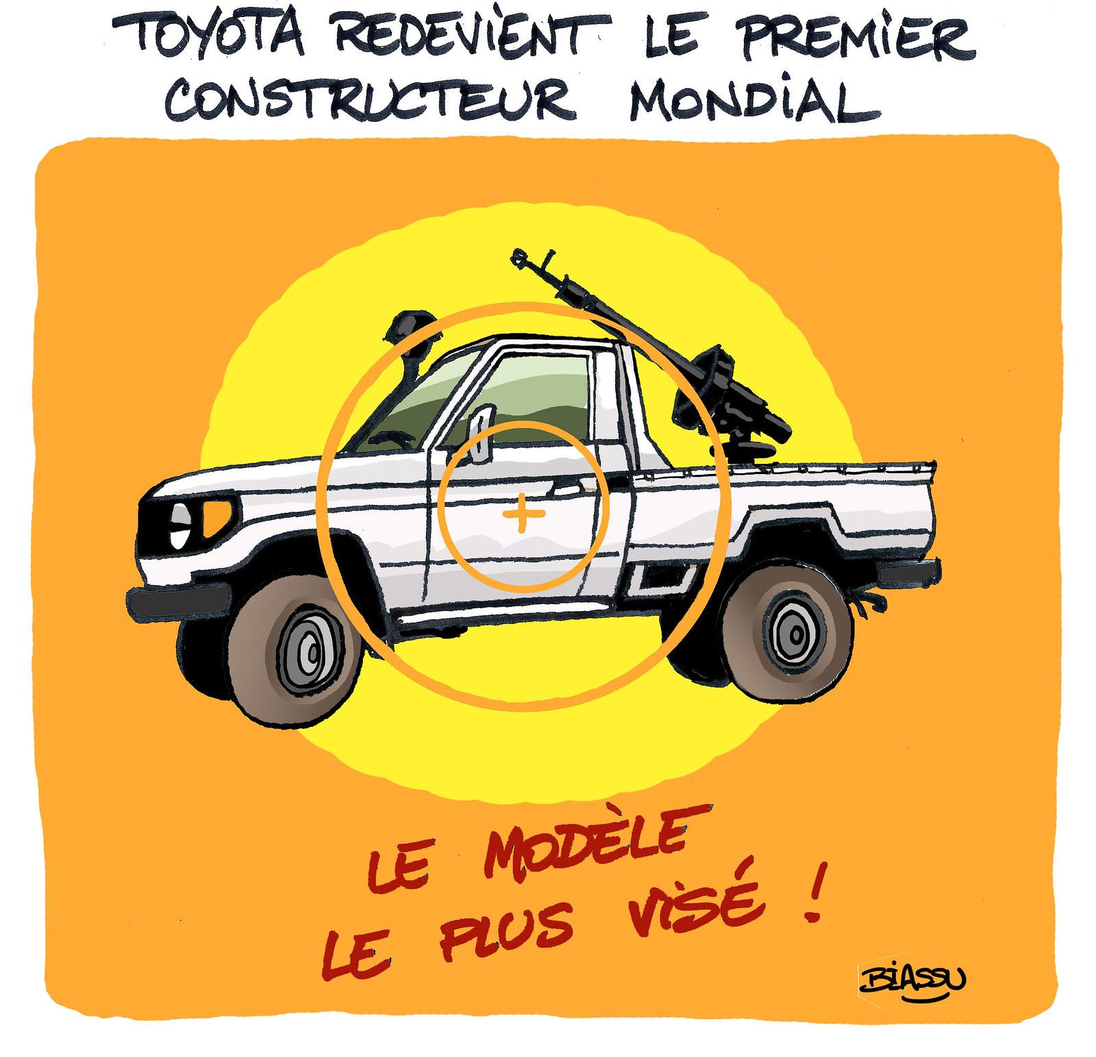Biassu+humour+Toyota++Mali