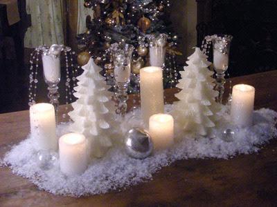 Chloe's Inspiration ~ Simple Christmas Centerpieces | Celebrate ...