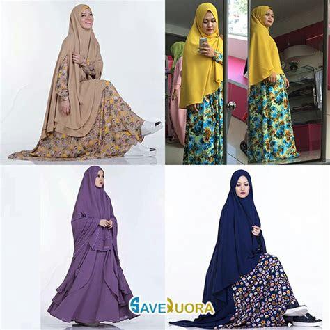 model gambar baju muslim lebaran trend terbaru