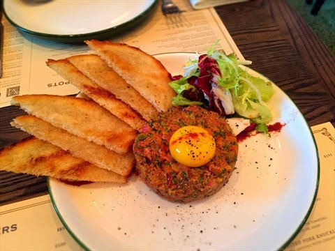 Steak Tartare - 銅鑼灣的FRITES Belgium on Tap
