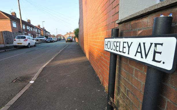 The road in Chadderton where Bill Singleton was taken ill