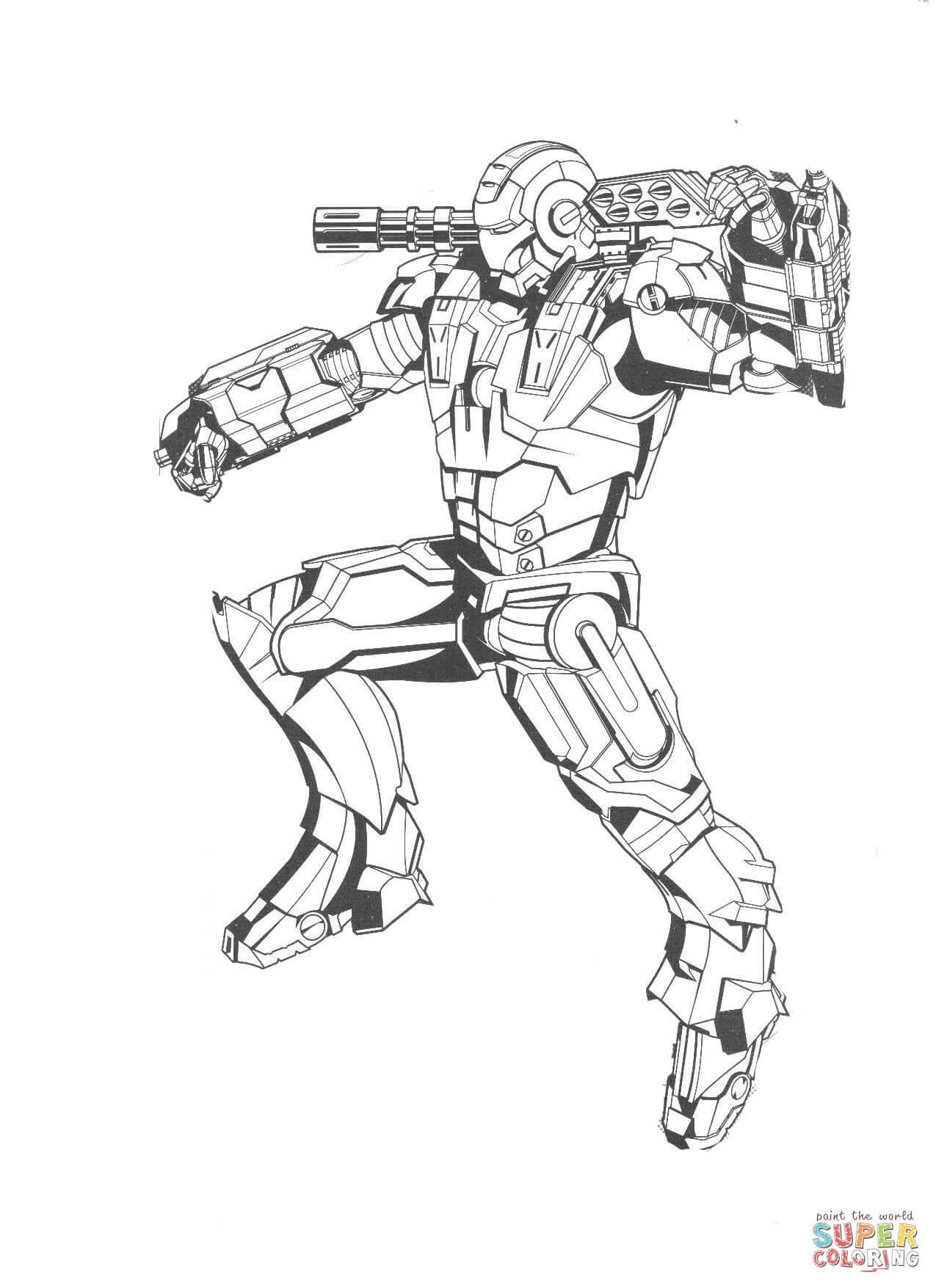 Iron Man voll bepackt
