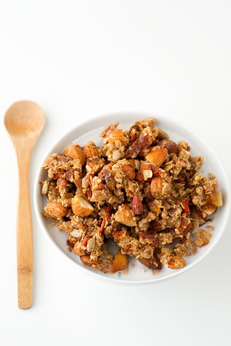 Oil Free Granola - Simple Vegan Blog