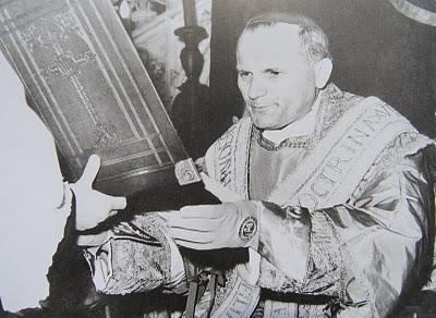 O Arcebispo Karol Wojtyla em 1964.