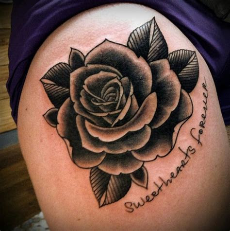 love traditional rose beautiful lines shading