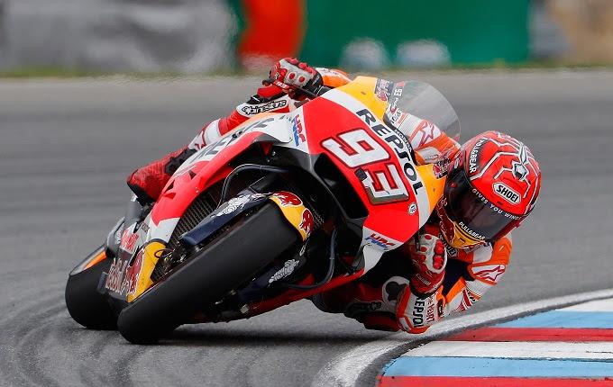 menyebarkan tips menghadapi ganasnya lintasan balap di kelas MotoGp Bung Marquez Berbagi Tips Menghadapi Ganasnya Lintasan Balap MotoGP