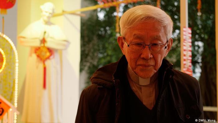 Hong Kong Salesian Churn - Kardinal Joseph Zen (DW/V. Wong )