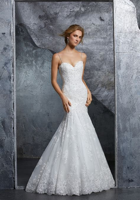MORILEE KENZIE FIT AND FLARE WEDDING DRESS (CODE ML30