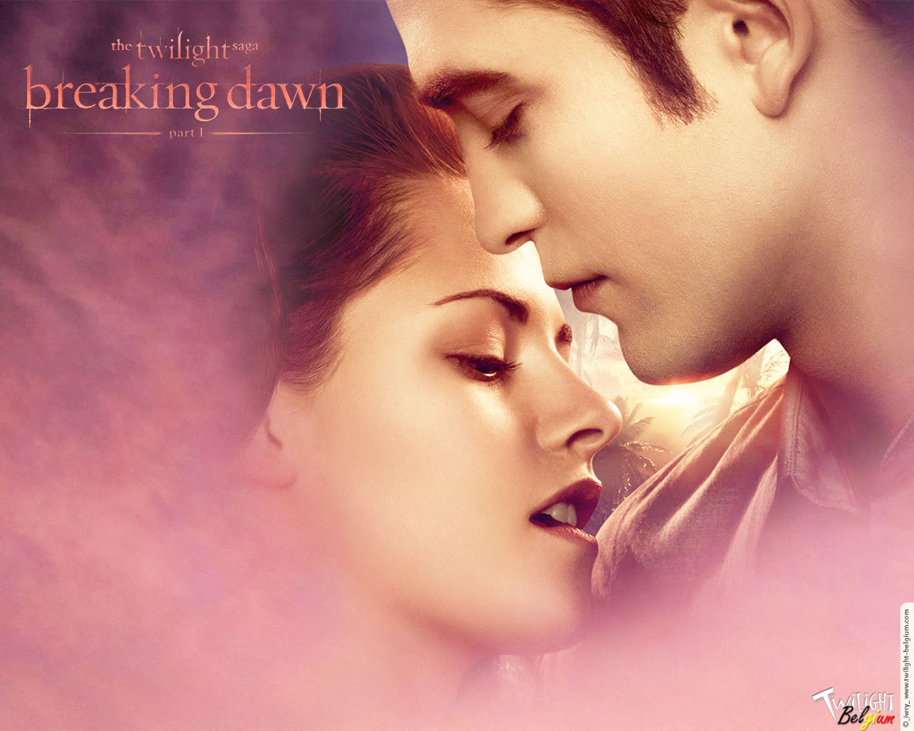 Edward Bella The Twilight Saga Breaking Dawn Part 1 Wallpaper