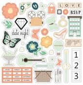 Date Night 12 x 12 Icon Sticker Sheet - Chickaniddy