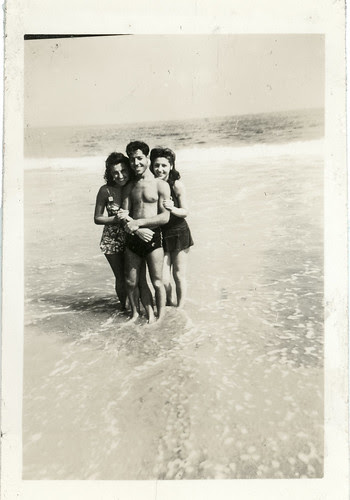 Three in the surf