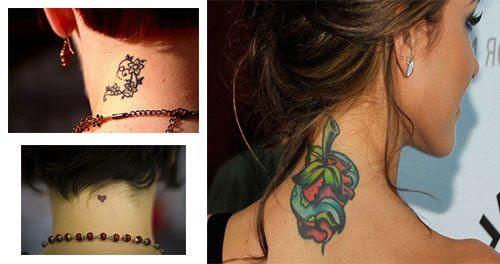 Tatuajes Para Mujeres En El Cuello Tatuajesparacom