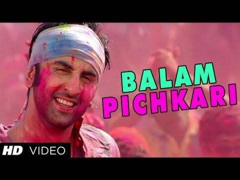 English translation - Balam Pichkari Lyrics   Yeh Jawaani ...