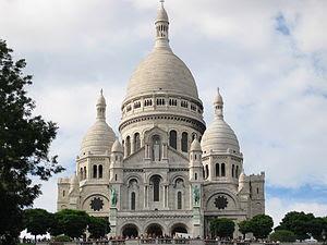 Basilique du Sacré-Cœur in Paris (France)
