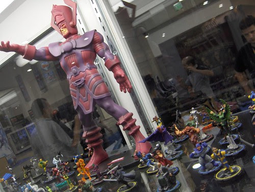 Heroclix Galactus towers over all!