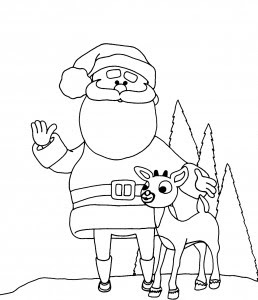 santa claus coloring pages  crafts and worksheets for