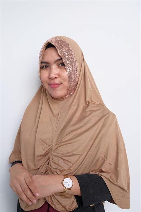 jilbab khimar syari yola sequin terbaru  bundakunet
