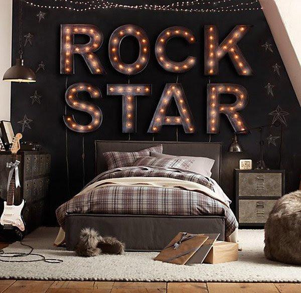 15 Interesting Music Themed Bedrooms | Home Design Lover