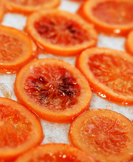 candied blood orange slices© by Haalo