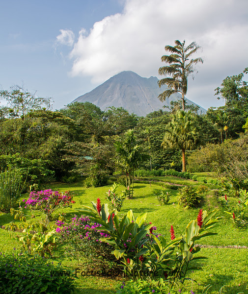 Arenal Observatory Lodge Garden View