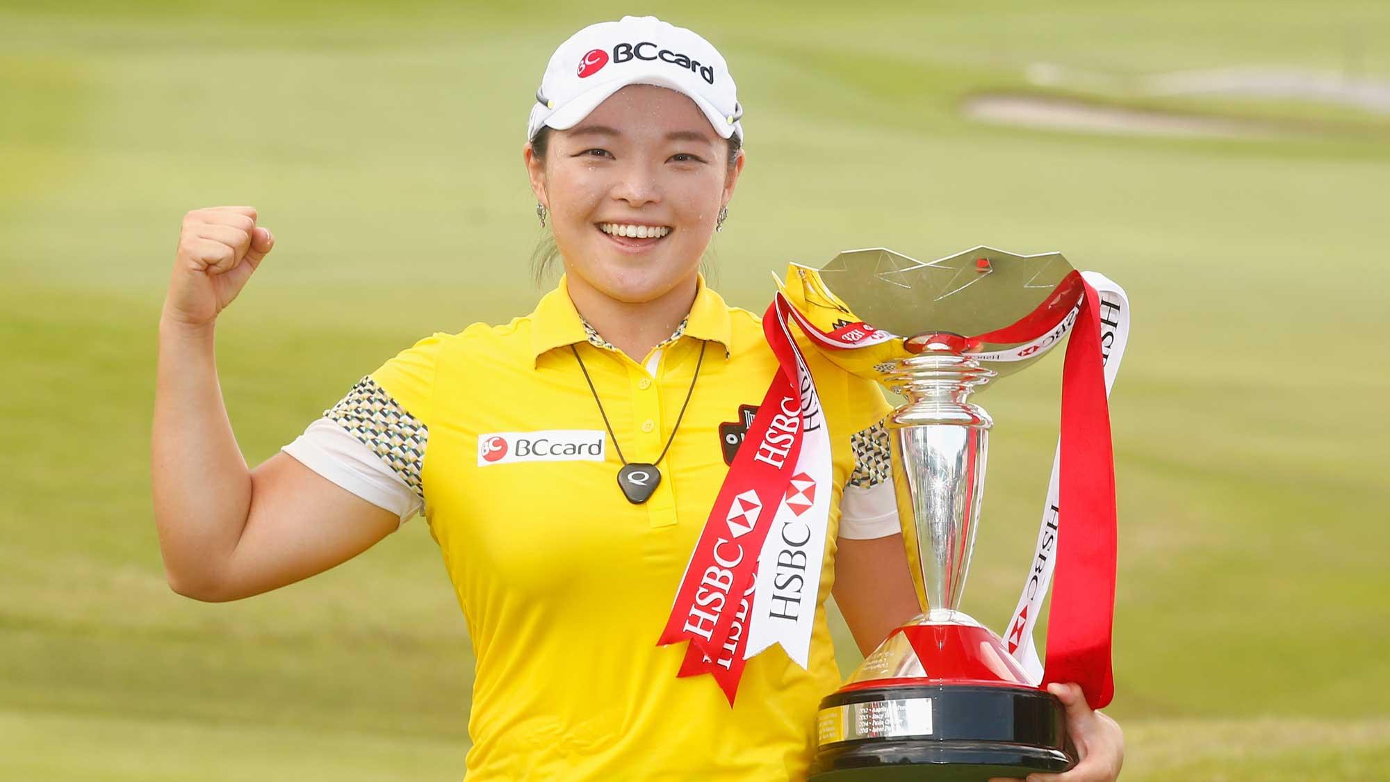 Defending champion HaNa Jang