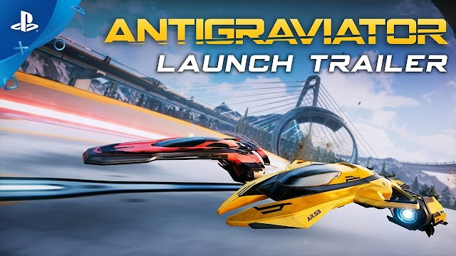 Antigraviator - Console Launch Trailer | PS4