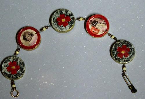 checker bracelet010