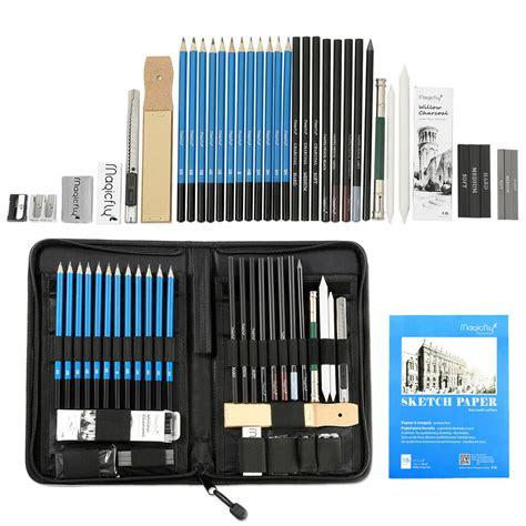 pcs professional drawing artist kit set pencils