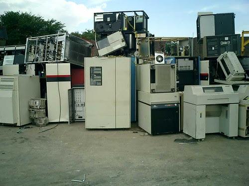 E-Waste Mainframes em Zâbia, Africa, ecologia