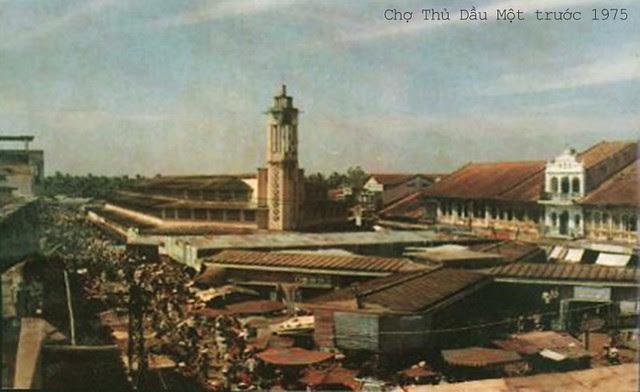 Chợ Thủ Dầu Một trước 1975