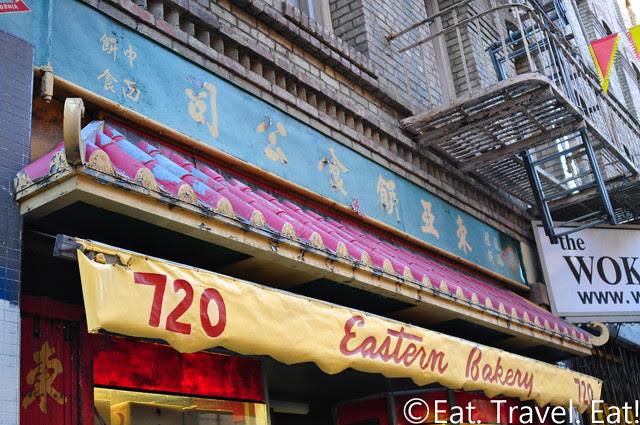 Eastern Bakery: Exterior- San Francisco, CA