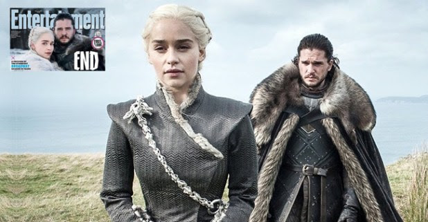 Games Of Thrones stars Kit and Emilia's first look of Season 8 is out and we can't keep calm